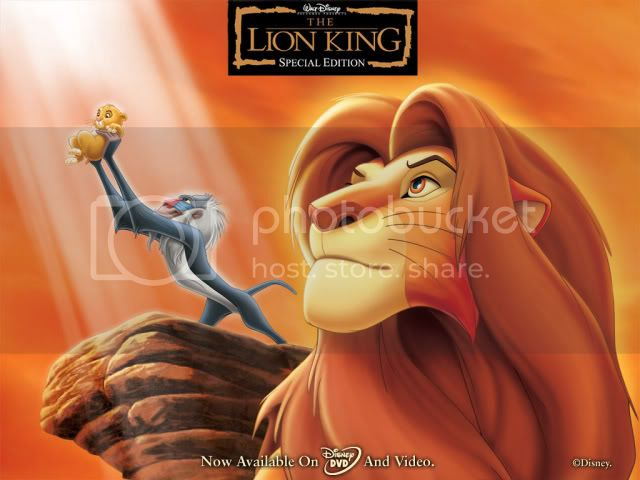 Lion King Background